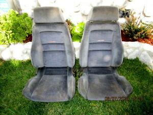 Original Recaro Volkswagen Bucket Seats Drivers And Passengers Seats