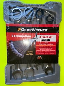 Gearwrench 4 Piece Large Metric Ratcheting Wrench Set 21 25mm