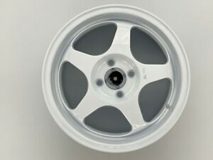 15x7 5 Spoon Style Wheels Rims 4x100 Fits Civic Integra Miata White