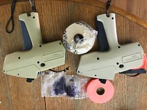 Good Used Monarch 1115 2 line Price Tag Gun Label Marker Systems