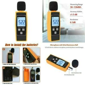 Hand held Sound Level Meter V resourcing 30 130 Db Decibel Noise Test New