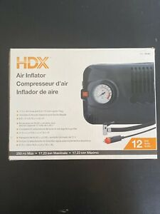 Hdx Air Compressor Air Inflator 12 Volt 250 Psi Max New In Box Never Used