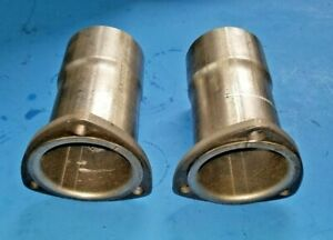 3 Header To 3 Id 3 Bolt Aluminized Gasket Style Collector Reducers Usa