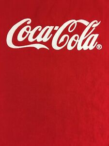 Enjoy Coca Cola  Red Color Vintage T- Shirt  Size: XXL New With Tags