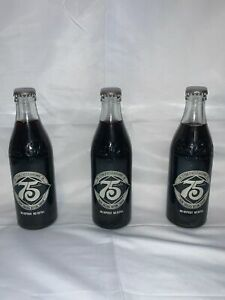 Coca Cola 75th Anniversary Bottle 1981 Lot Bellevue WA Unopened