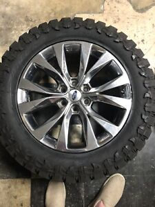 Set Of 4 Takeoffs 2012 2020 F150 4x4 Factory Wheels With Tires 20