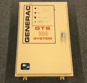 Generac Gts 100 System Generator Metal Electrical Housing Cabinet Only