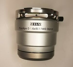 Zeiss Planapo 1 6x Objective For Smart Zoom Microscope