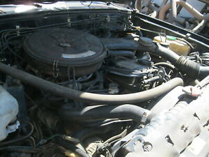 86 Nissan Pickup 4x4 Z24 8 Plug Engine With 5 Speed Transmission And T Case