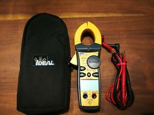 Ideal 61 765 True Rms Ac dc Clamp Meter 660a