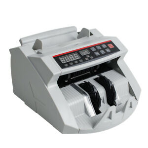Usa Bill Money Counter Cash Currency Count Counting Automatic Bank Uv