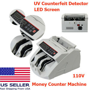 Ups Ship Money Cash Counting Bill Counter Bank Counterfeit Detector High Quality