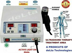 Professional Physiotherapy Ultrasound Therapy Unit 1 Mhz Ce Delta Therapeutic