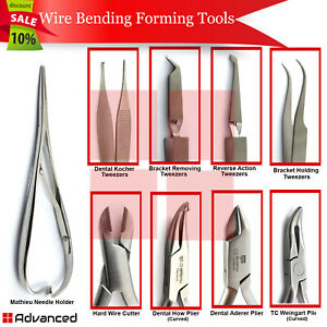 Orthodontic Tooth Braces Plier Surgical Arch Wire Bending Forming Instruments Ce