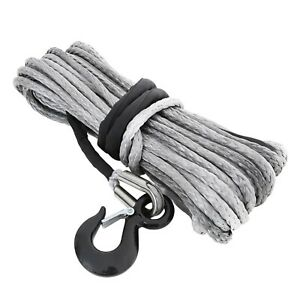 Smittybilt 97715 Xrc Synthetic Winch Rope 15000 Lb Rated Line Pull