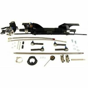 Unisteer 8010820 01 Rack Pinion Power Aluminum Rack Kit For 1967 Ford Mustang