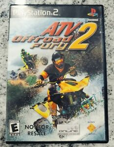 ATV⚡Offroad Fury 2 - Sony PlayStation 2 (PS2) Game w/ Instruction Manual !! 🎯🎯