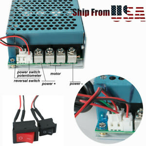 100a 5000w Reversible Dc Motor Speed Controller Pwm Control Soft Start W Pedal