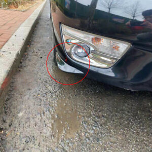 2x Universal Car Bumper Corner Guard Cover Anti Scratch Protector Sticker Parts