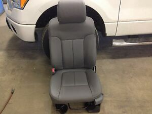 2013 2014 Ford F150 Xlt Crew Cab Super Crew Katzkin Leather Seat Gray New Lapis