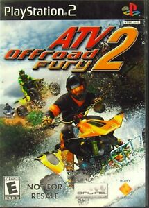 ATV OffRoad Fury 2 Sony Play Station 2 2002 PS2 Complete Tested