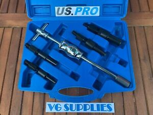 Us Pro Tools 5pc Blind Inner Bearing Puller Set Slide Hammer Internal New 5148