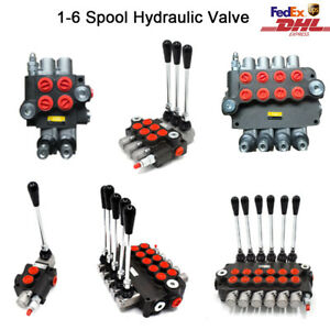 11gpm Hydraulic Directional Control Valve 1 Spool 2 Spool For Tractors Loader us