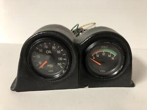 Vdo Vintage Gauges Oil Pressure Psi Volts Bmw Porsche Mercedes Benz