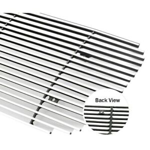 For Ford Expedition 07 14 1 Pc Chrome Polished Horizontal Billet Bumper Grille