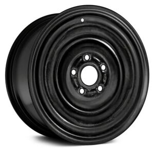 For Ford Mustang 65 69 4 slot Black 14x5 Steel Factory Wheel Remanufactured