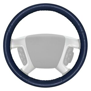 Wheelskins Europerf Perforated Blue Steering Wheel Cover W Blue Sides Color