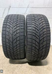 2x P255 40r18 Bfgoodrich G force Comp 2 A s 9 32 Used Tires