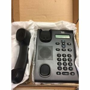 Cisco Unified Sip Phone 3905 Charcoal Standard Handset