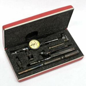 Starrett 711 Last Word Dial Indicator 0 030 X 0 001 With Accessories And Case