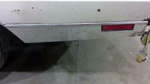 1985 Chevy Monte Carlo Left Rear Lower Chrome Molding Trim With Lens