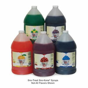 Snow Cone Syrup Sno Cone Syrup 1 Gallon 25 Flavors free Shipping