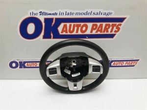 17 2017 Dodge Caravan Oem Steering Wheel Assembly Black Leather With Controls