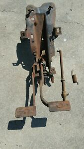 65 66 1965 1966 Ford Galaxie Clutch Pedal Assembly 500 Xl Brake 65 Pushrod