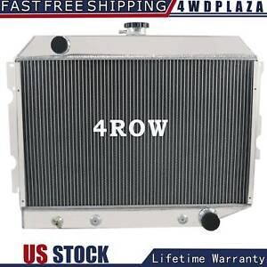 4 Row Aluminum Radiator For 1968 1974 Dodge Mopar Cars 26 Core Small Block