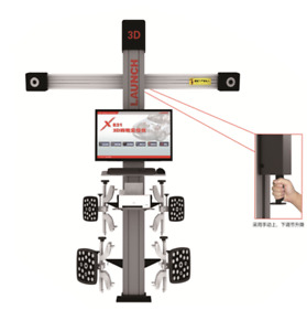 Launch X831c1 Wheel Alignment 3d Truck Precision Equipment Wireless Car Shop