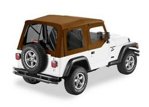 Bestop 54710 37 Supertop Soft Top Fits Jeep Tinted Windows Spice