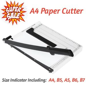 10 sheet Professional Accurate Guillotine Paper Cutter A4 Paper Trimmer Us Stock