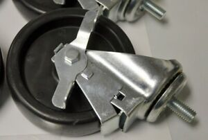 True 5 1 2 13 Stem Caster Set 2 With Brake And 2 Without 830282 W wrench