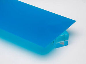 2051 Blue Highly Translucent Acrylic Sheet 3 Mm 0 12 Thick 18 W X 24 L