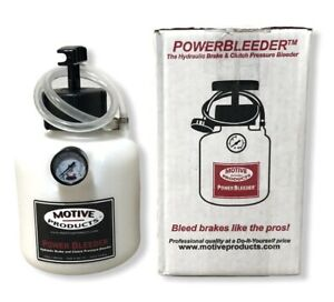 Motive Products Power Bleeder Kits 0117 Brand New Fast Free Shipping