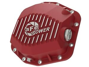 Afe 46 71000r Rear Differential Cover Red Jeep Wrangler jl 18 20 dana M220