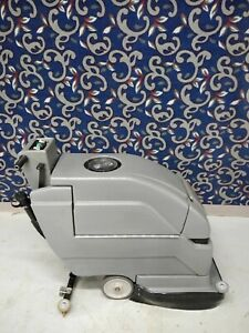 Tennant Nobles 20 Floor Scrubber With New Batteries And Free Shipping