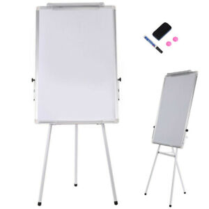 Magnetic Portable Erase Easel Board 36x24 Tripod Whiteboard Height Adjustable Us