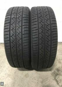 2x P235 55r19 Continental Truecontact Tour 9 32 Used Tires