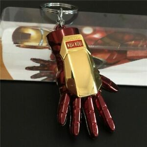 Key Chain Iron Man Hand Hanging Ornaments Decors Rear View Mirror Accessories